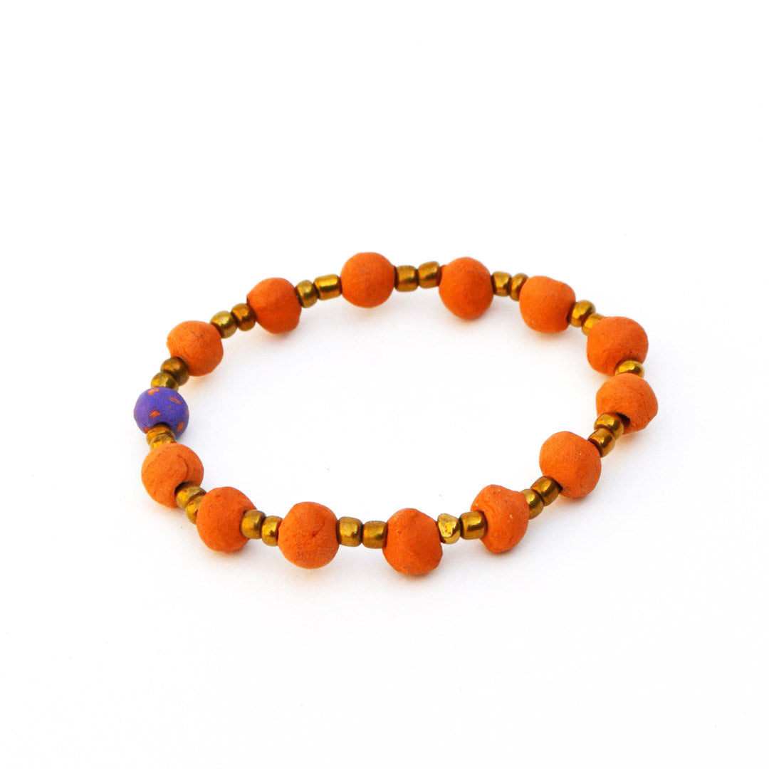 Diffuser Bracelet - Purple Specks