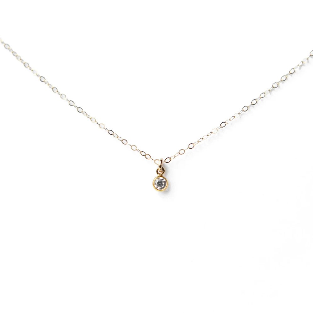 Bezel Necklace