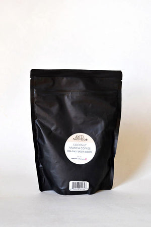 Coffee + Coconut Scrub - Sea Salt