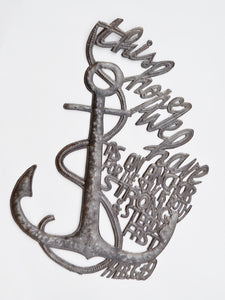 Anchor Metal Art
