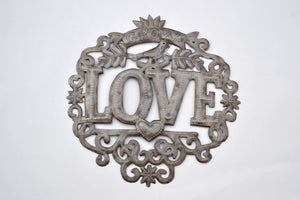 Grow Love Metal Art
