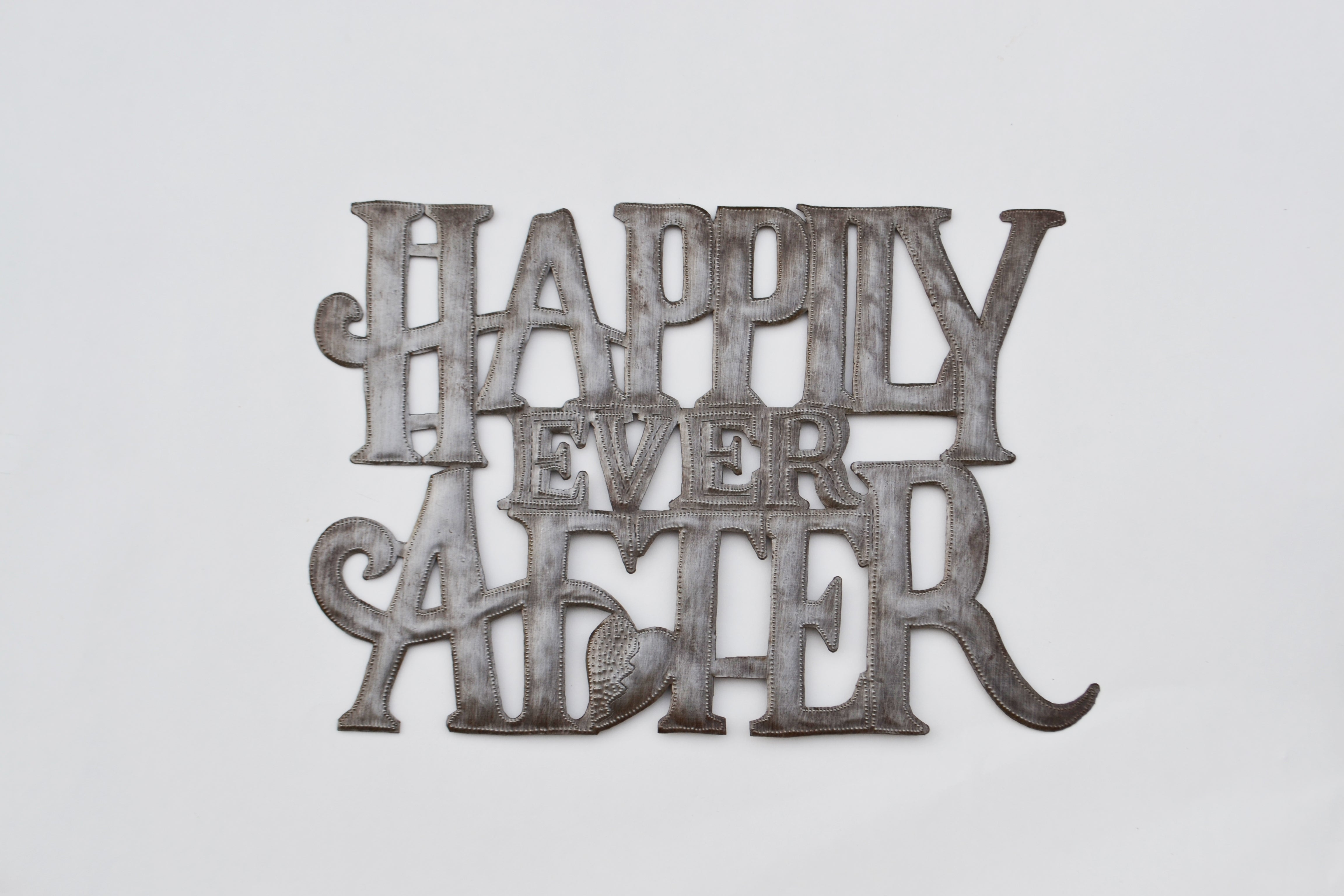 Happily Ever After Metal Art