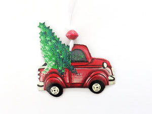 Pick Up Truck Ornament