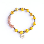 Diffuser Bracelet - Yellow Specks