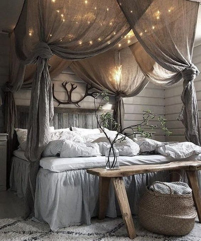 Girls canopy bedroom ideas for toddler room decor.
