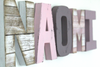 Girl Room Name Letters