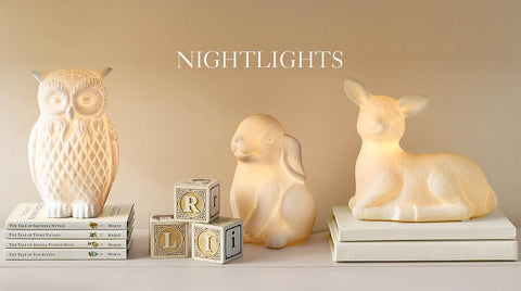 Restoration hardware kids night lights for toddler room decor.
