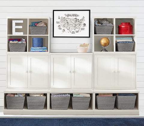 Pottery barn storage ideas for toddler room decor ideas.