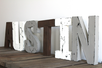 Austin boy room nursery letters for camping themed nursery and mountain theme nurseries.