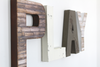 Farmhouse Play wall letters for playroom wall decor.