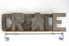"CREATE ""wooden"" letters for Playroom"