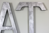 Large Kitchen EAT letters in silver