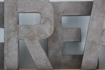 GRAY create letters for playroom signs