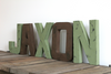 Green woodland theme nursery name JAXON