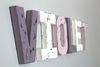 Purple room letter name VIOLET