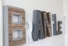 Boy room industrial wall letters for boys room wall decor.