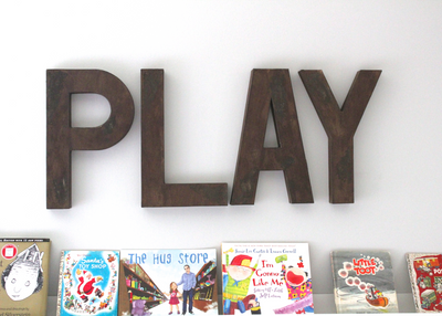 Large Play Letters