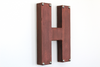 "Industrial Copper ""metal"" letter H"
