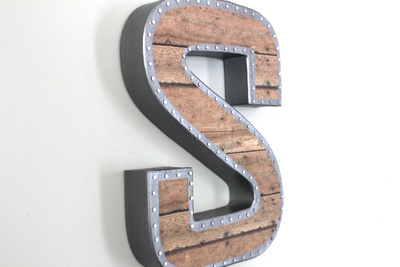 Farmhouse Industrial Letters