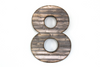 "Farmhouse reclaimed ""wooden"" number 8 for picture props."