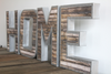 """Metal"" Home Sign with Reclaimed ""Wood"" Look"