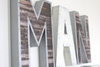 Man cave wall letters for man cave wall decor.