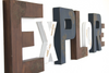 Rustic farmhouse Explore sign for kids playroom wall decor.