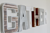 Gather wall letters for an industrial farmhouse kitchen wall decor.