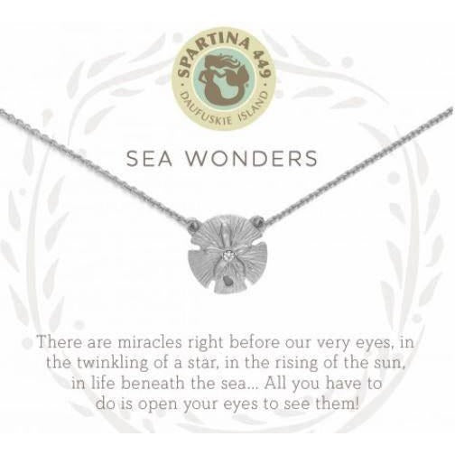 Sea Wonders Silver Necklace