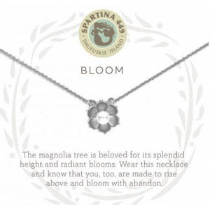 Bloom Silver Necklace