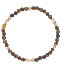 Worthy Bracelet- Tiger Eye