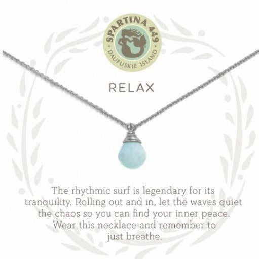 Relax Silver Necklace