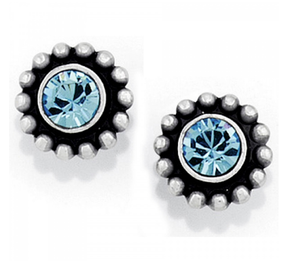 Twinkle Mini Post Earrings Blue
