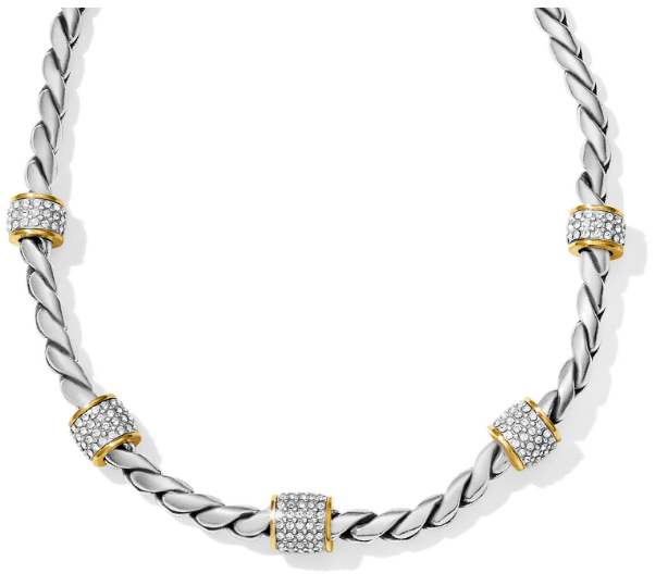 Meridian Two Tone Necklace
