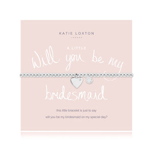 A little Will You Be my Bridesmaid?