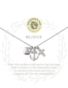 Rejoice Silver Necklace
