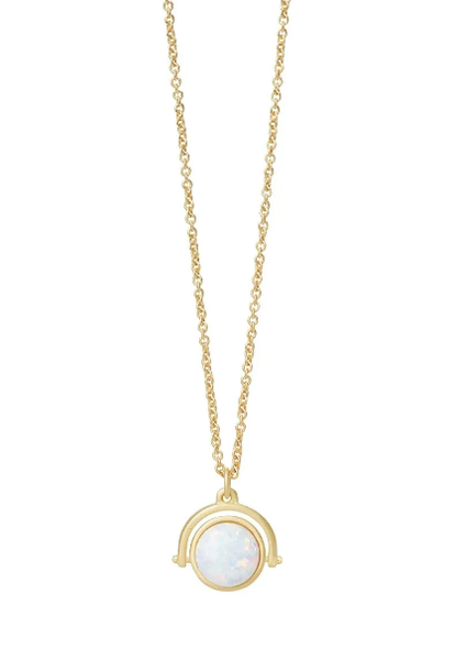 To the Moon & Back Gold Necklace