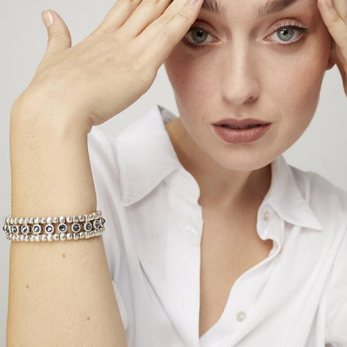 Bela Bracelet - Black Diamonds