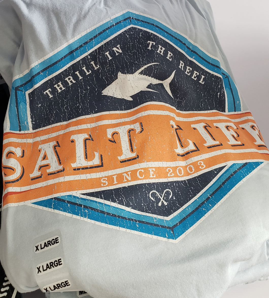 Thrill in the Reel Salt Life T-Shirt