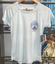 Ladies SPF50 Arctic Blue Endless Summer Short Sleeve
