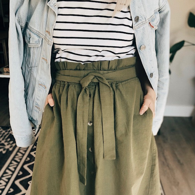 Spring Styling Tips - 25 Ways to Wear The Isthmus Skirt