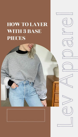 how to layer with base pieces ethical slow fashion slow-fashion women owned