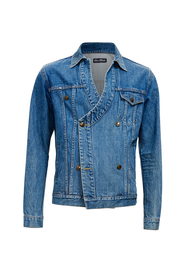 Chester Double Breasted Denim Jacket