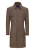 Greenleaf Cashmere Military Coat