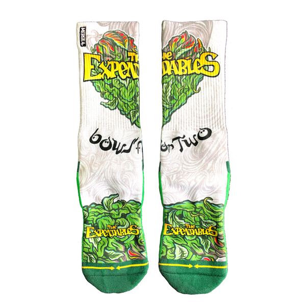 """Bowl for Two"" x Merge4 Socks"