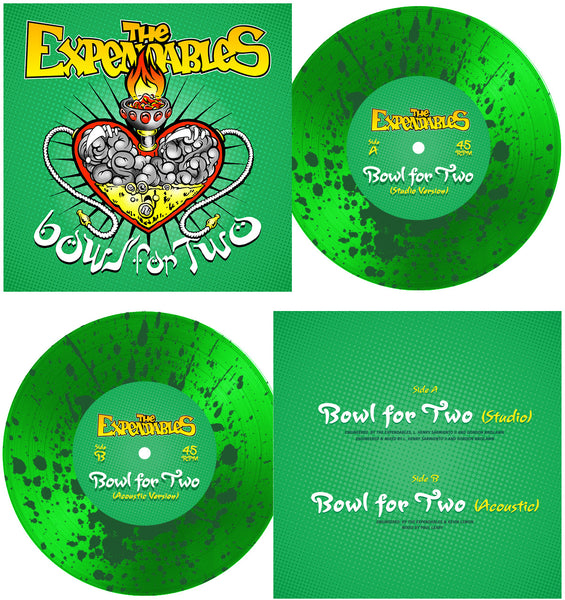 """Bowl For Two"" Vinyl 7"" - Splatter Green"