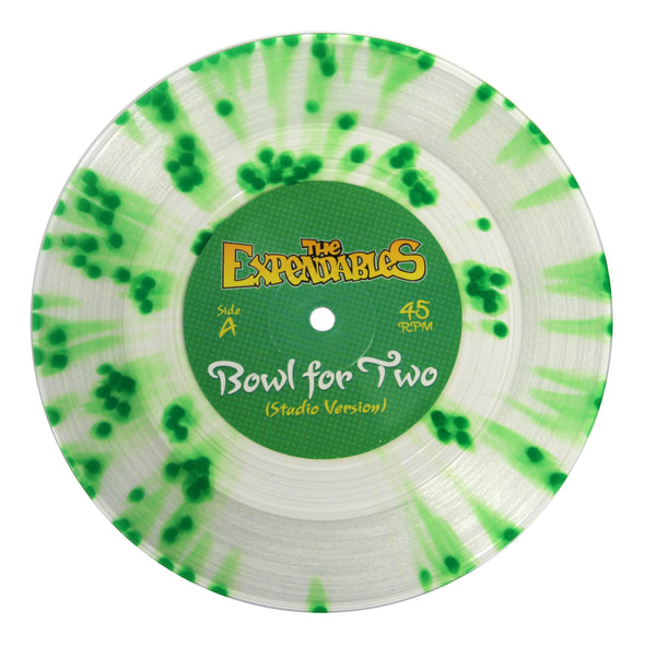 """Bowl For Two"" Vinyl 7"" - Clear Splatter"