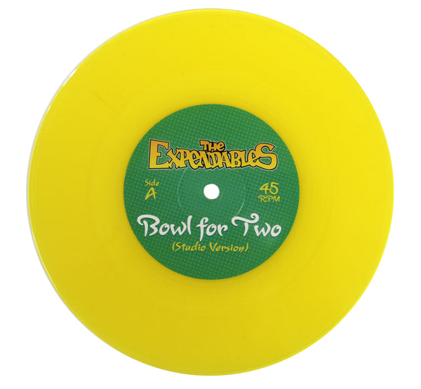 """Bowl For Two"" Vinyl 7"" - Yellow"