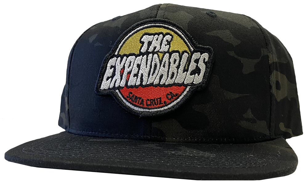 Surf Shop Patch Hat - Black Camo
