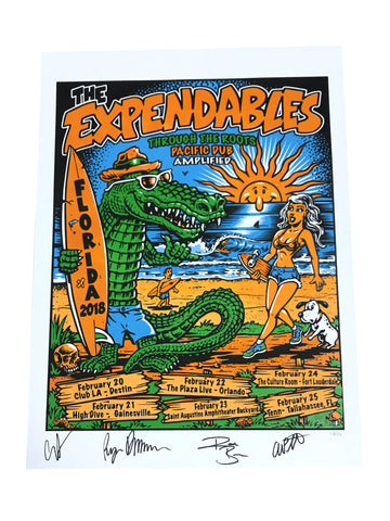 Florida Poster (SIGNED)